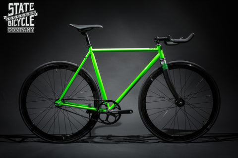 State Bicycle Co Contender Green Fixed Gear/Track Bike