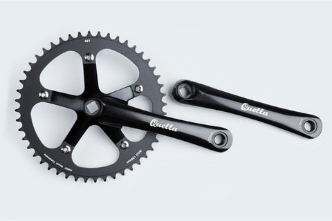 Quella Track Crankset 48t for Fixed Gear/Single Speed
