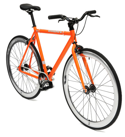 Create Bikes Orange Single Speed/Fixed Gear Bike - 2012 - 59cm Frame