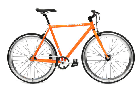 Create Bikes Orange Single Speed/Fixed Gear Bike - 2012 - 54cm Frame