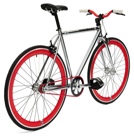 Create Bikes Silver Single Speed/Fixed Gear Bike - 2012 - 48cm Frame – Fixed Gear Frenzy