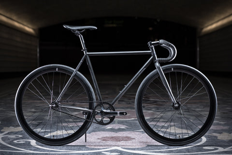 State Bicycle Co Matte Black 5 Fixie Single Speed Bike Fixed