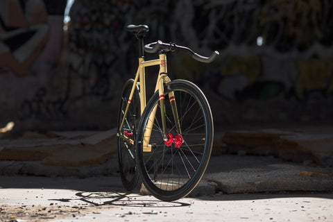 State Bicycle Co Bomber Single Speed Fixed Gear Bike
