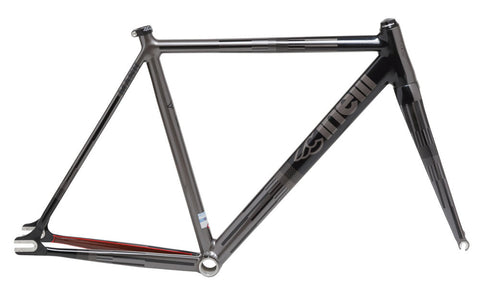 Cinelli Mash Parallax Frameset Charcoal/Optical