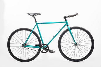 Quella Nero Green Single Speed Bike