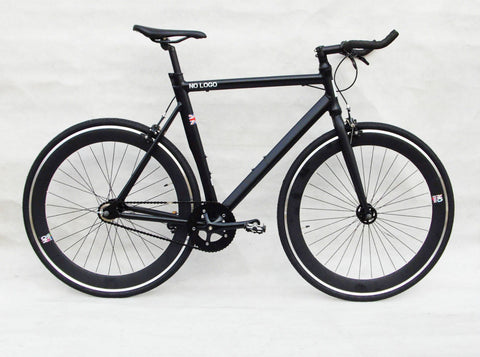 No Logo Bikes 2015 Single Speed bike & Fixed Gear Black