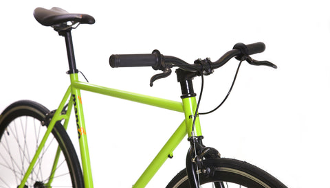 Mango Bikes 2015 Black Series Single Speed | Matte Green