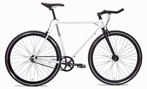 Mango Bikes 2015 Black Series Single Speed | Matte White