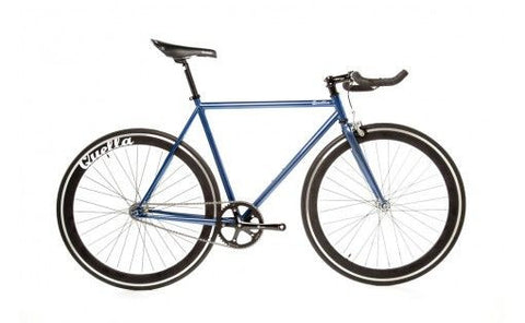 Quella Bicycle One Purple/Black Fixed Gear Single Speed Bike 2013 - 55cm Frame