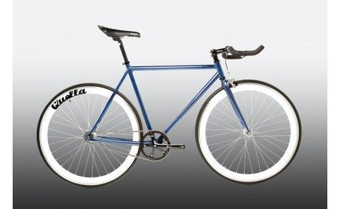 Quella Bicycle One Purple/White Fixed Gear Single Speed Bike 2013 - 52cm Frame