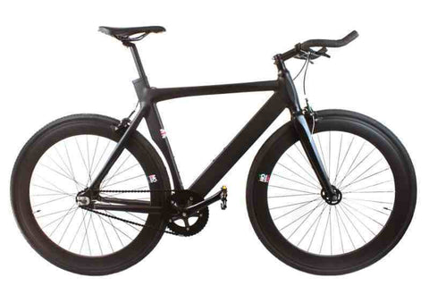 No Logo 2017 Aero Single Speed Track Bike All Black