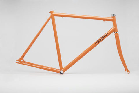 Foffa Orange Track Frameset - Fixed Gear Single Speed Frame  - Size: 59cm
