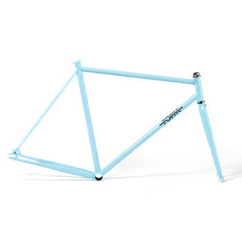 Foffa Prima Azure Track Frameset - Fixed Gear Single Speed Frame 2012 - Size: 53cm