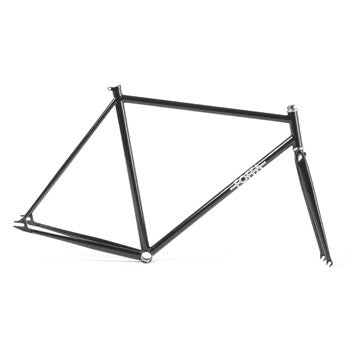 Foffa Prima Black Track Frameset - Fixed Gear Single Speed Frame 2012 - Size: 53cm