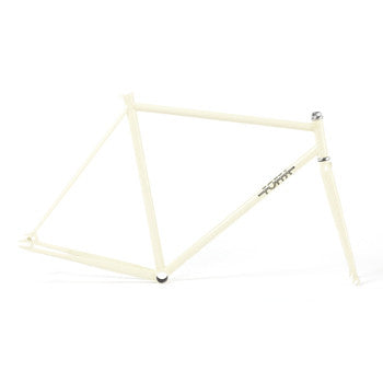 Foffa Prima Creme Track Frameset - Fixed Gear Single Speed Frame 2012 - Size: 53cm