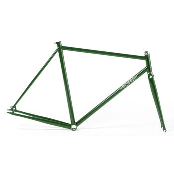 Foffa Prima Green Track Frameset - Fixed Gear Single Speed Frame 2012 - Size: 55cm