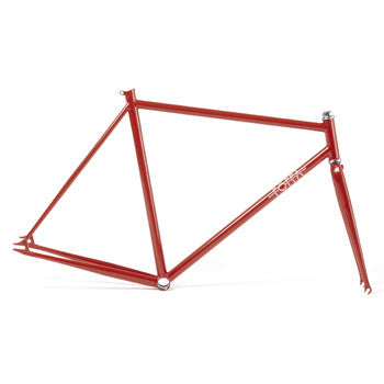 Foffa Prima Red Track Frameset - Fixed Gear Single Speed Frame 2012 - Size: 53cm