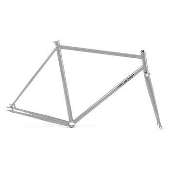 Foffa Prima Grey Track Frameset - Fixed Gear Single Speed Frame 2012 - Size: 53cm