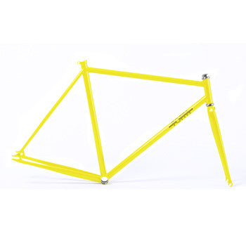 Foffa Prima Yellow Track Frameset - Fixed Gear Single Speed Frame 2012 - Size: 55cm