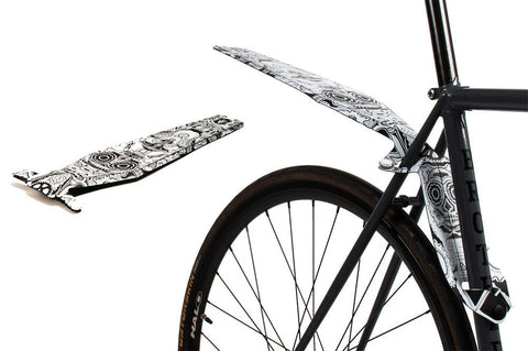 Full Windsor QuickFix CandsSkull Rear Mudguard - Limited Edition