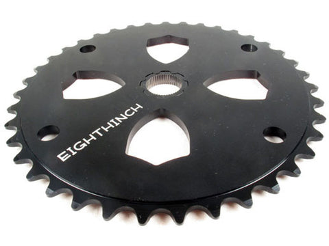 Eighthinch 48 Splined Bmx Chainring Black 37t