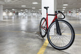 State Bicycle Co Black Label Matte Red Track Bike