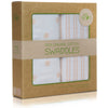 100% Organic Cotton Muslin Swaddle Blankets