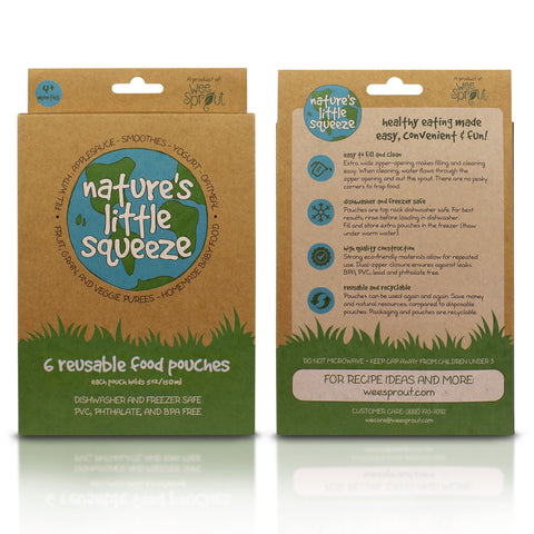 Front and Back of Packaging