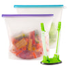 16 Cup Silicone Reusable Food Storage Bags (Set of 2)