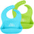 Silicone Baby Bibs (2 pk)