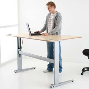 Conset 501 17 Height Adjustable Desk