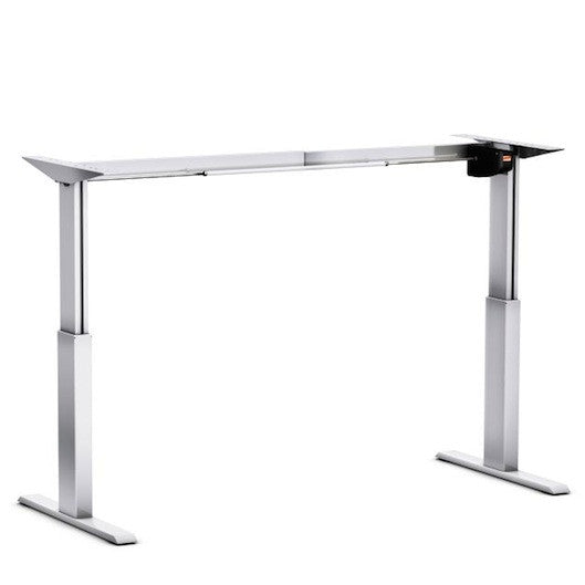 Aluforce Pro 140 Electric Height Adjustable Desk Frame Front View