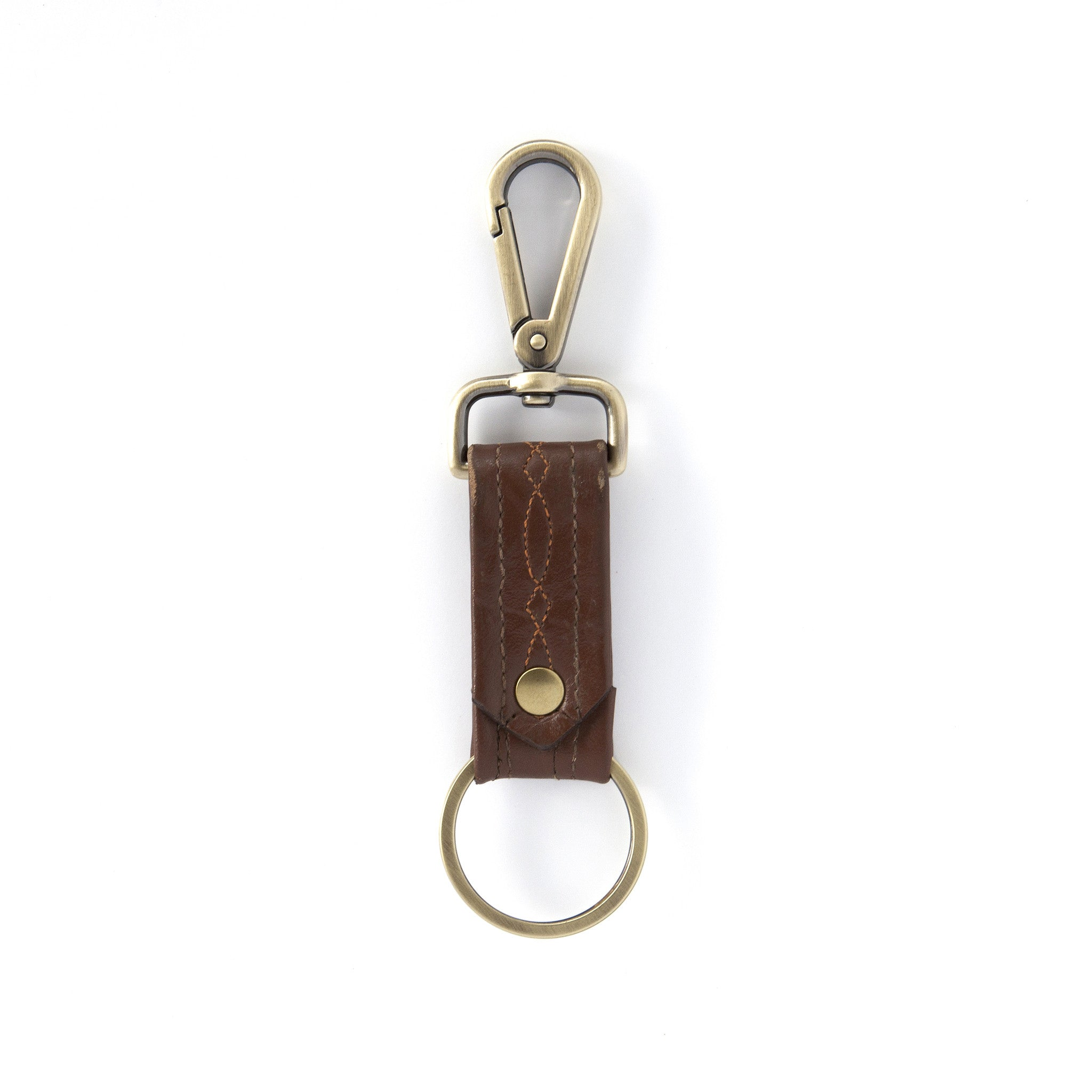 Brown Bootstrap Keychain