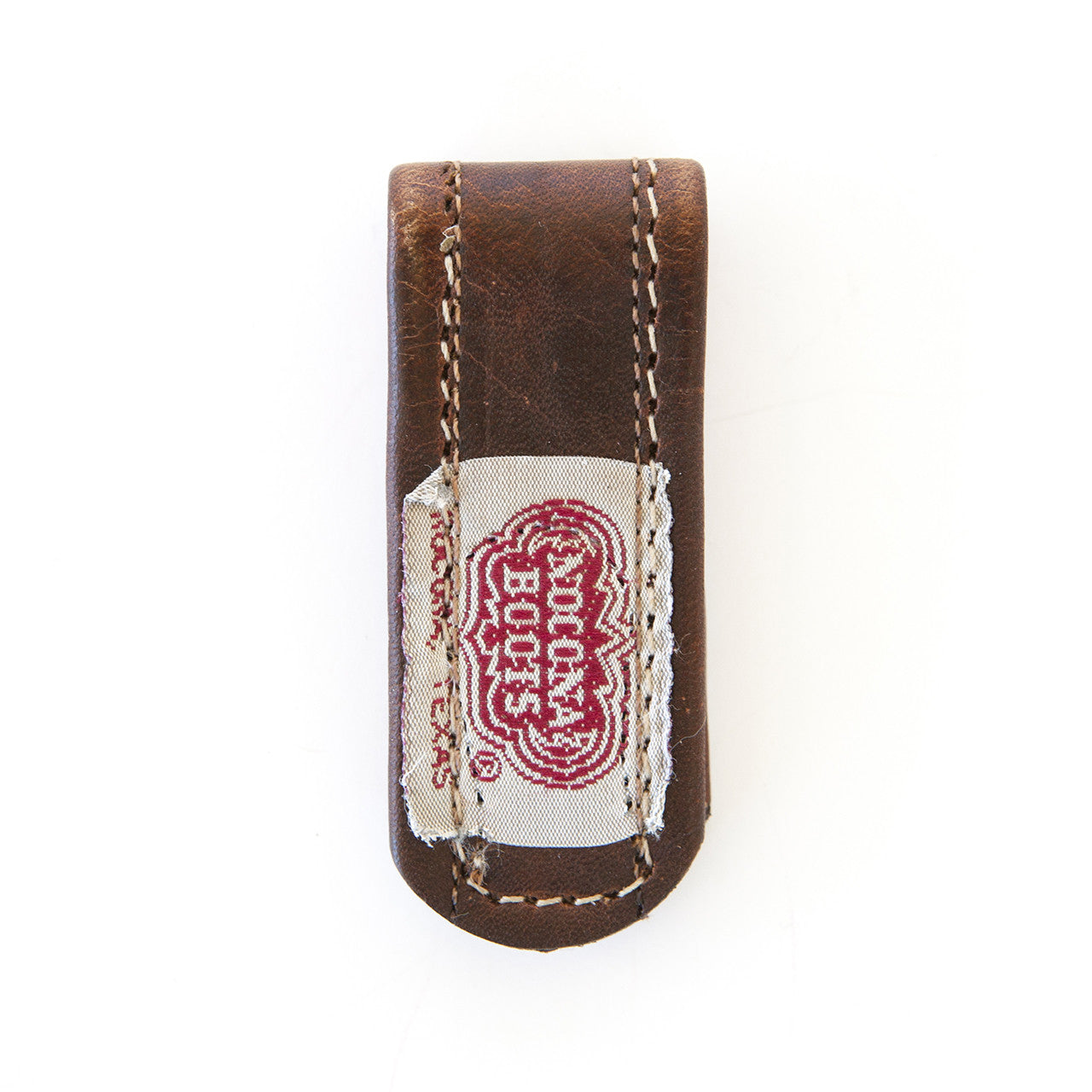 Brown + Orange Bootstrap Money Clip