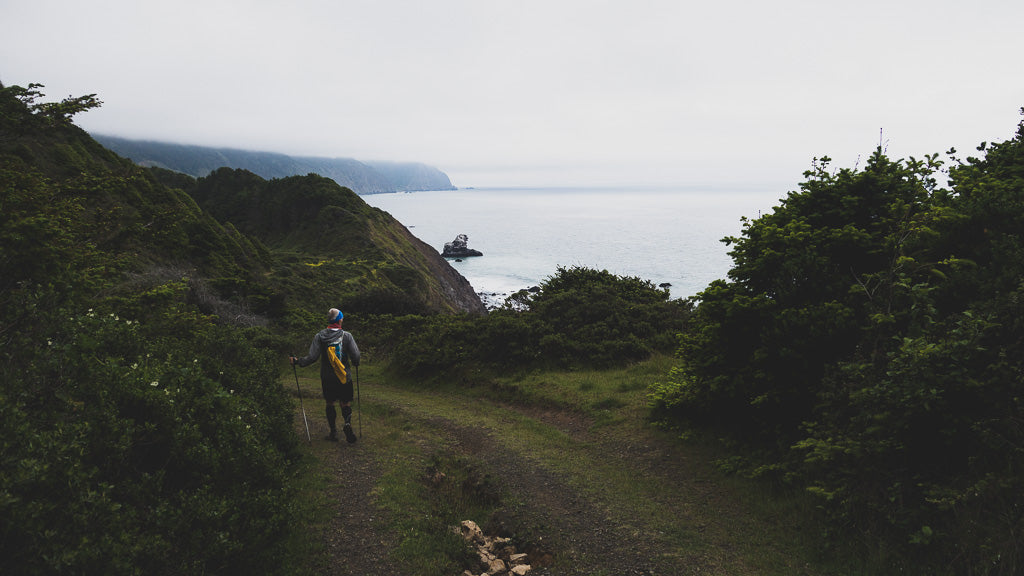 Trail Running the Lost Coast Trail - Supported by Aspire Adventure