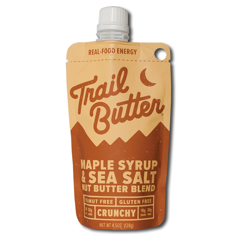 Trail Butter - Maple Syrup & Sea Salt 4.5 oz- 3 Pack