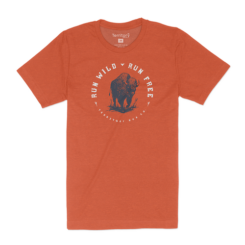The Western Post Run Tee