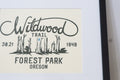 Wildwood Trail Forest Park Art Print w/ Mat