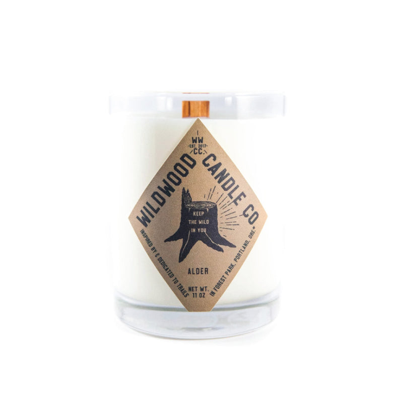 Alder Candle - Wildwood Candle Co.