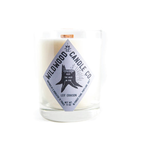 Leif Erikson Candle - Wildwood Candle Co.