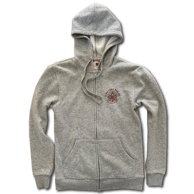 Autumn Trails Unisex Zip Hoodie