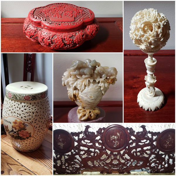Chinese carved artwork