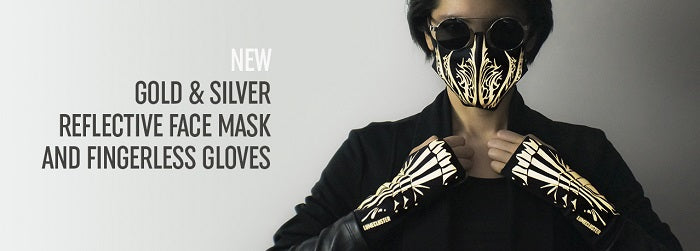 Lumecluster Phoenix Facemask and gloves