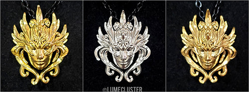 Lumecluster Resilience Pendant