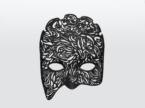 Dreamer Mask: Illumination (half mask)