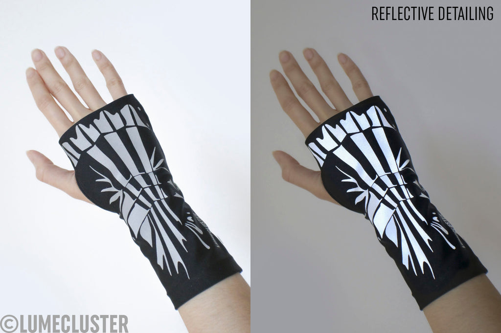 Reflective Gauntlet Sleeve Pre-order (Lumecluster X Wing & Weft)