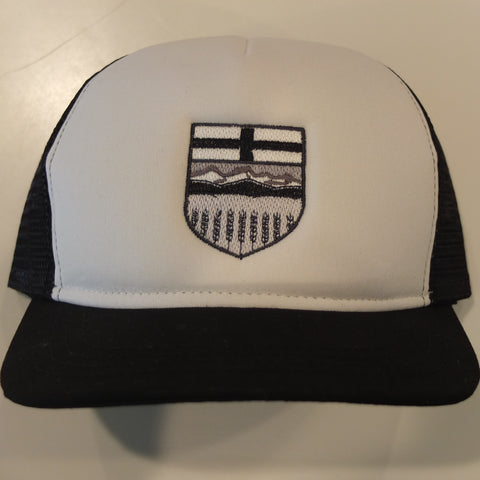 Alberta Shield Monochrome Trucker