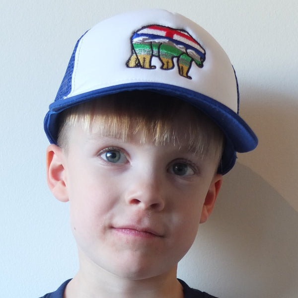 Kids AlBearta Trucker Hat