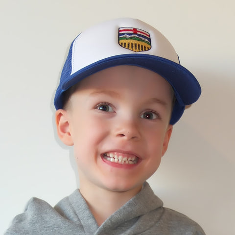 Kids Alberta Crest Trucker Hat