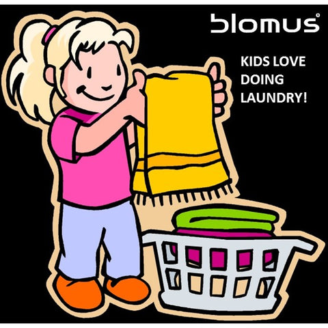 Kids Love Doing Laundry!